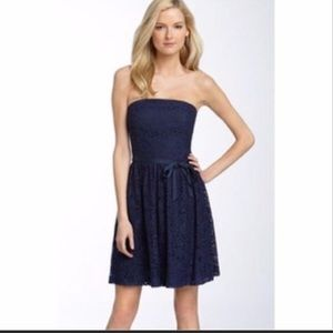 NWT Trina Turk lace strapless dress
